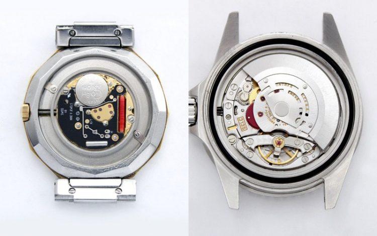 機械式時計とクオーツ時計