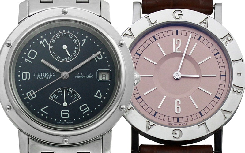 エルメス、カルティエの時計