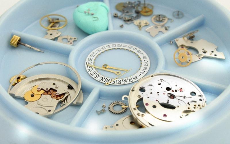 時計の分解掃除(オーバーホール)