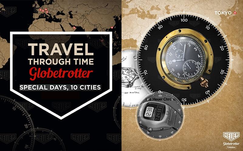 世界を旅するホイヤー・ヴィンテージ展