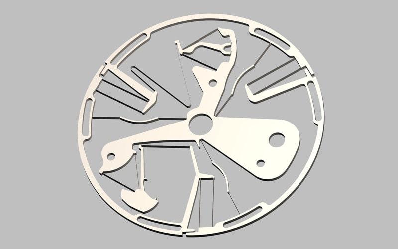 一体構造調速機構ゼニス オシレーター