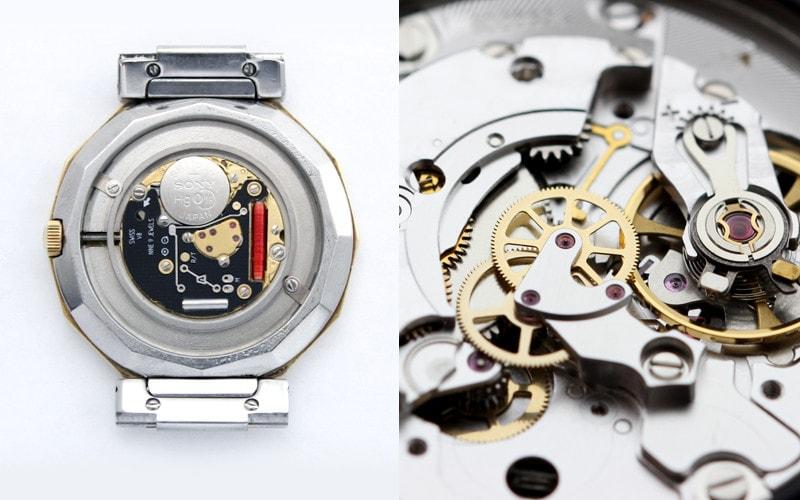 機械式時計とクオーツ時計の精度