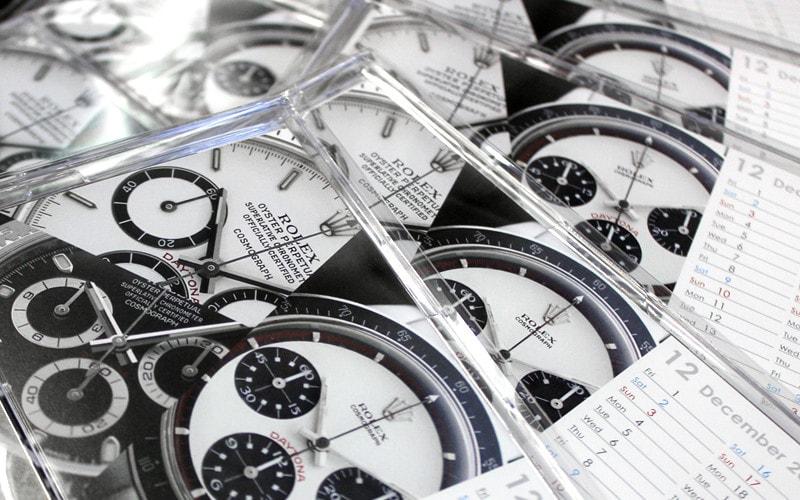アンティグランデ 時計カレンダー