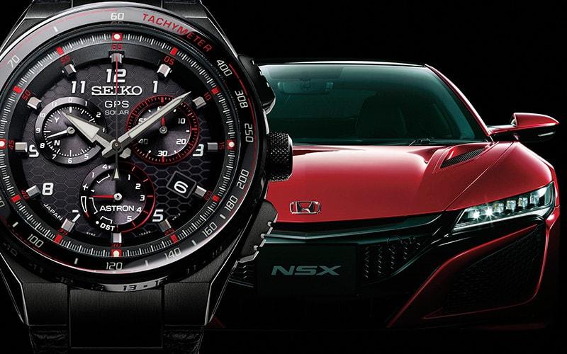 Honda NSXの世界観とコラボ
