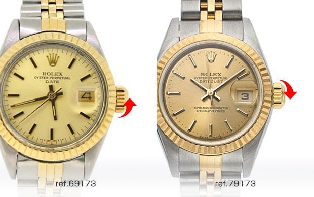 premium selection 255d4 9b50e デイトジャスト レディース 買取価格と新旧見分け方 | ウォッチ ...