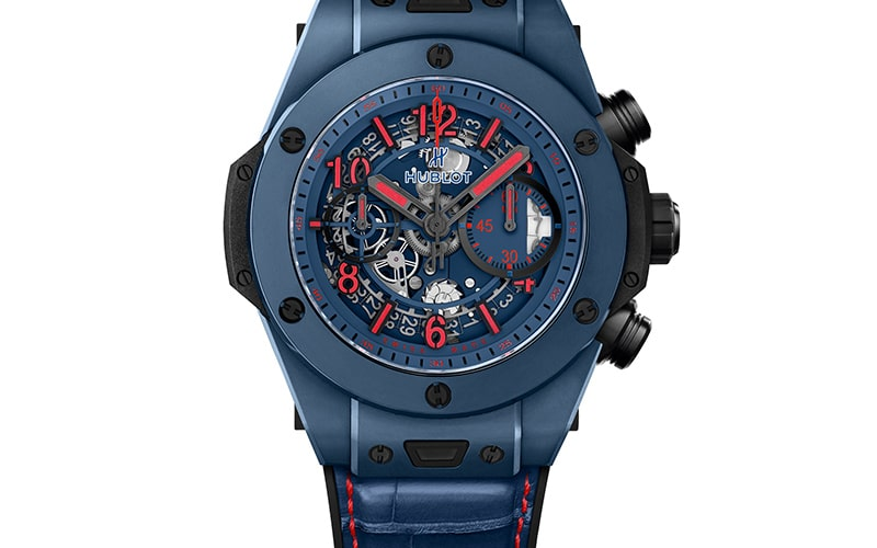 the latest 5e56f 1005a ウブロ新作 ブルーのビッグバン ウニコ X ジョゼモウリーニョ ...