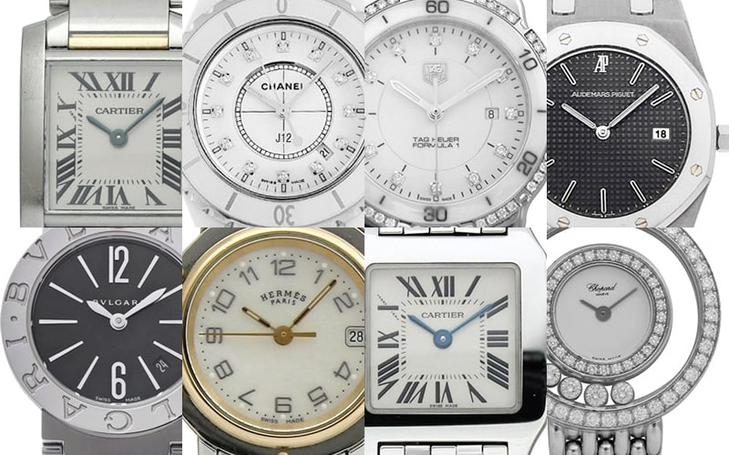 電池式のブランド時計