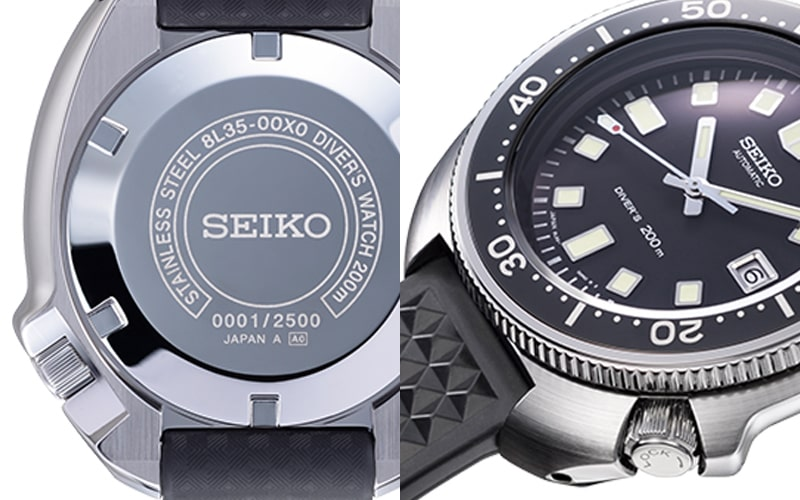 雫石高級時計工房製造の8L35を搭載