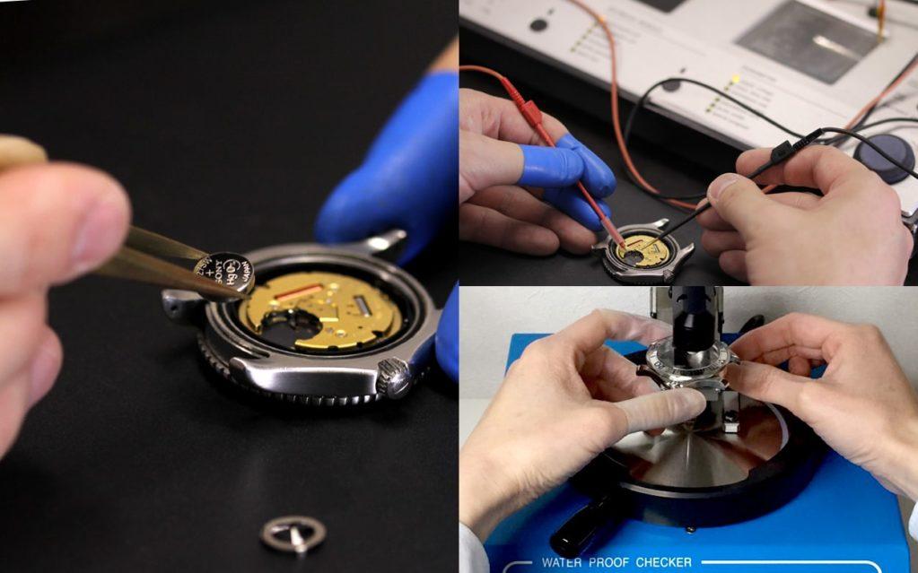 時計の電池交換+お手入れセットはじめました