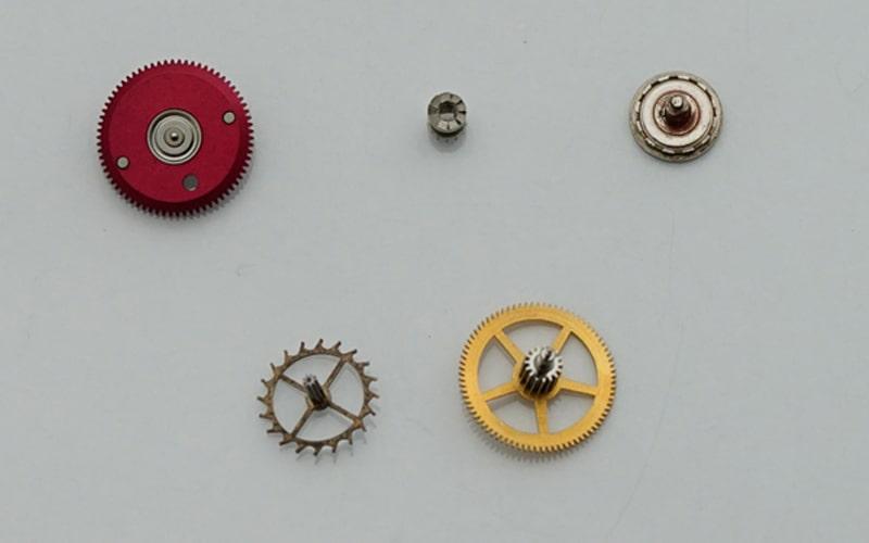 時計の部品 歯車
