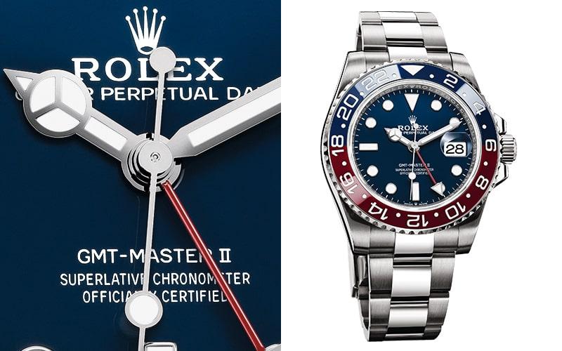 GMTマスター2 126719BLRO ブルー文字盤