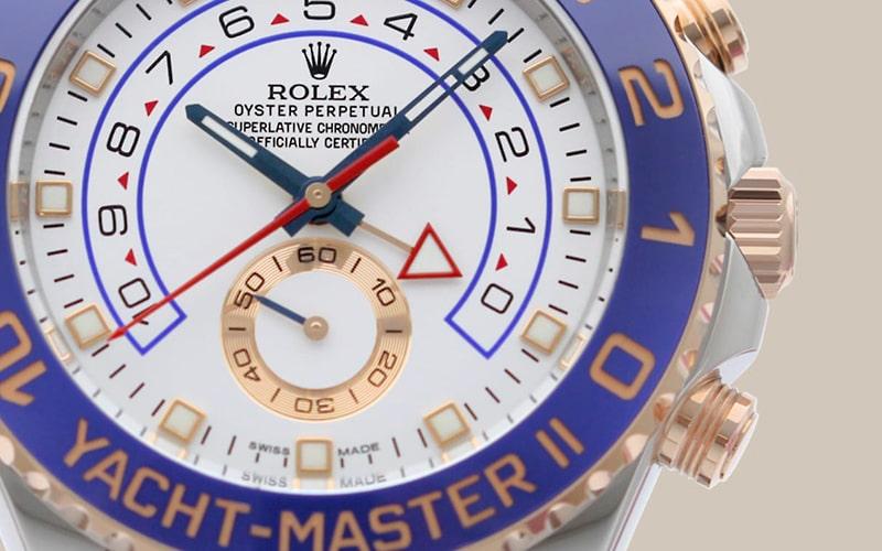 ロレックス ヨットマスター2 買取相場と新旧の見分け方
