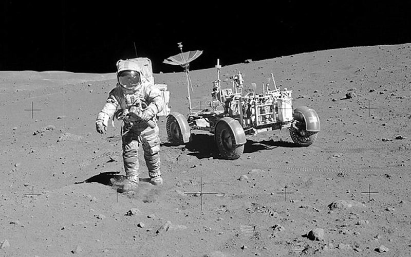 アポロ15号船外活動とローバー