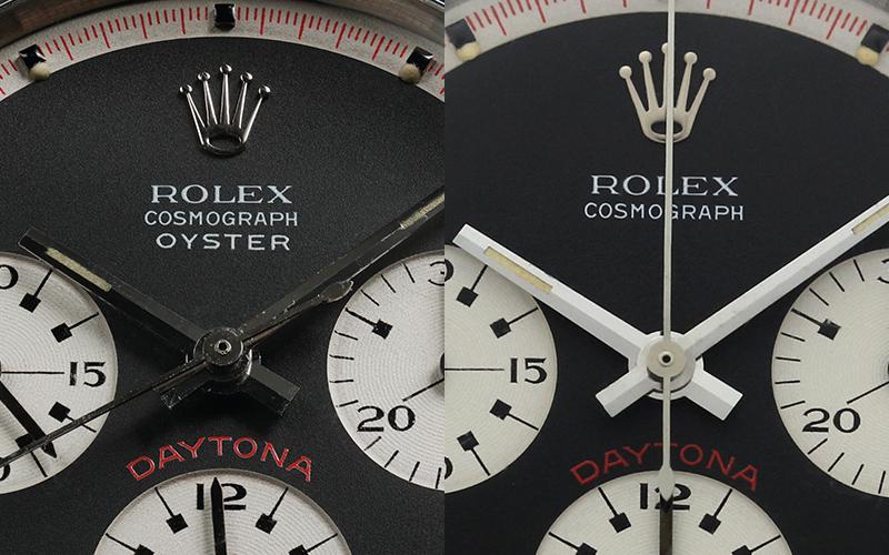 左:The Oyster Sotto 6263と右:6239