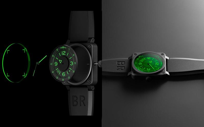 BELL&ROSS BR03-92 HUD のデザイン