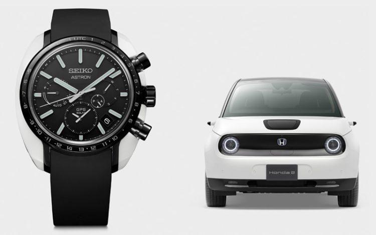 セイコーアストロン Honda eとの限定コラボモデル発売