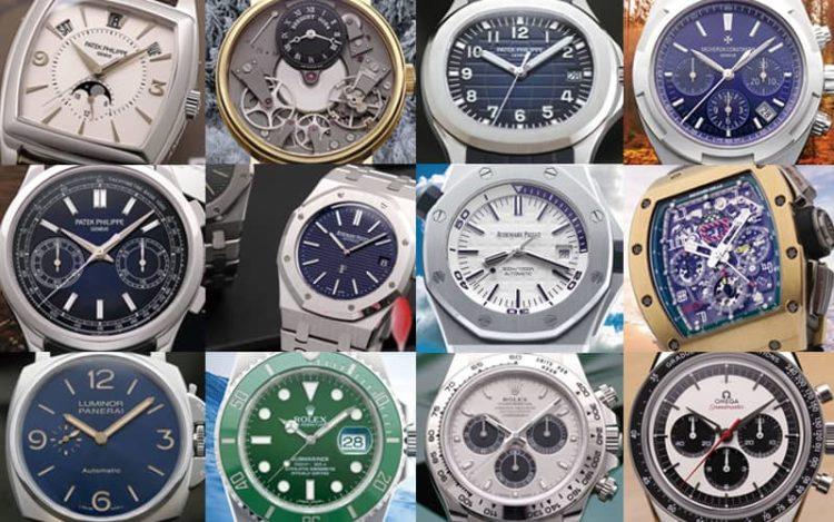 ロレックス、オメガ、パネライなどのブランド腕時計