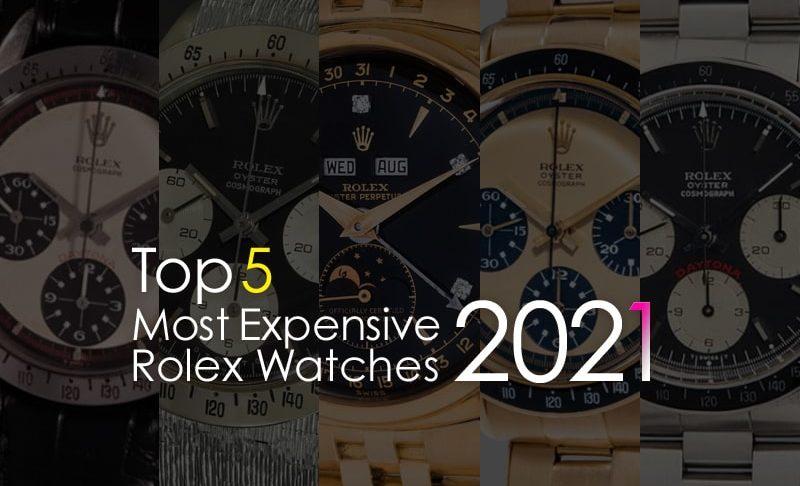 世界で一番高いロレックス トップ5