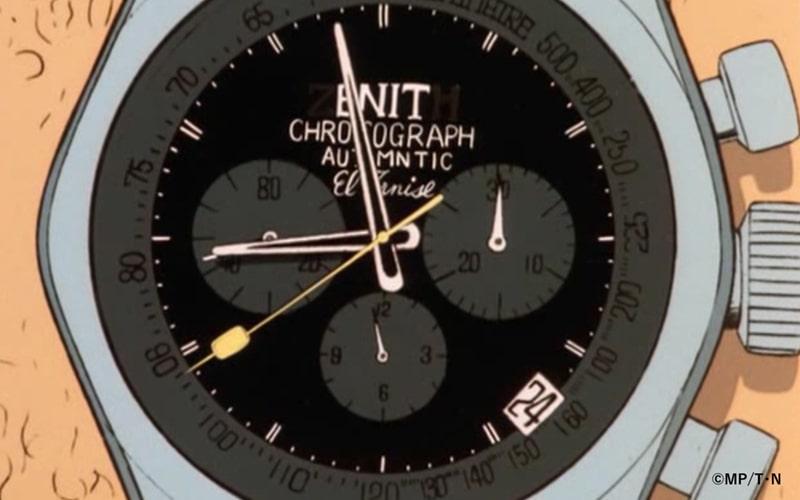第一話で登場した次元大介の腕時計をより忠実に再現