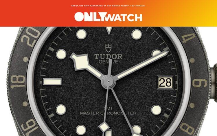 チューダー ブラック ユニークピース GMT ONE ref.7893/001U オンリーウォッチ